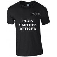 Plain Clothes Police Officer T-Shirt