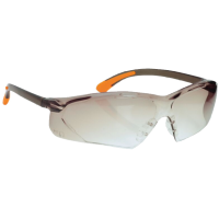 Smoke Coloured Fossa Spectacle Safety Glasses