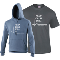 KEEP CALM and... OK, not that calm Novelty T-shirt or Hoodie