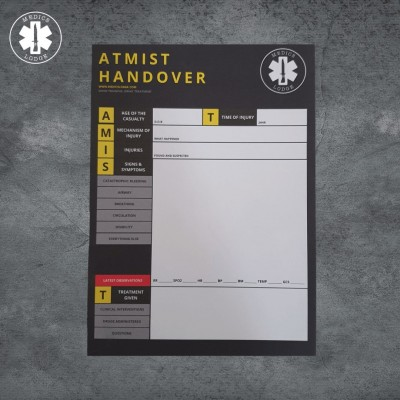 Medical Notepads (3 to choose from) ATMIST, ASHICE or SBAR - its the detail that counts!