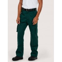 Super Pro Heavy Duty Ambulance Trousers with Cargo, Tool and Knee Pad Pockets. (Green, Navy or Black)